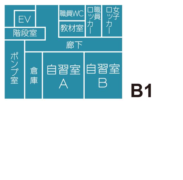 B1F見取り図