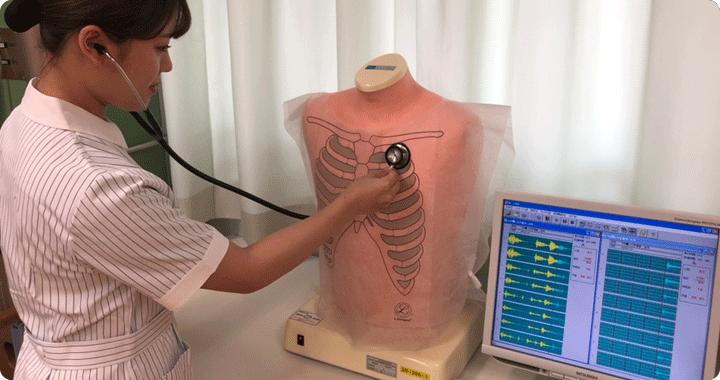呼吸音聴取シミュレーター「ラング」